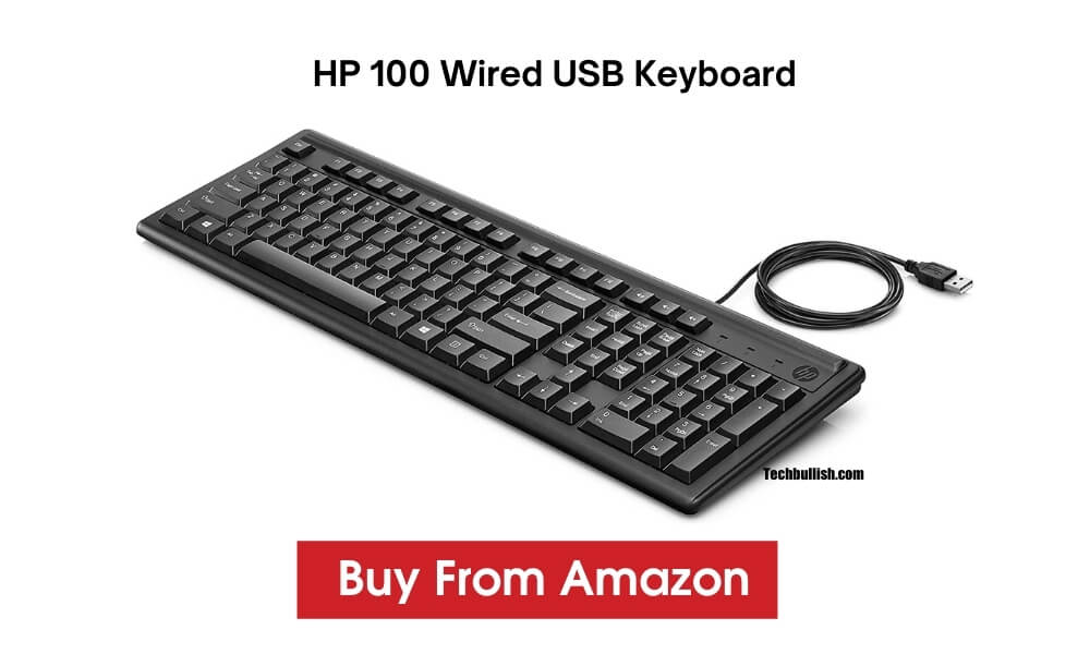 budget hp keyboard-HP100 Keyboard India