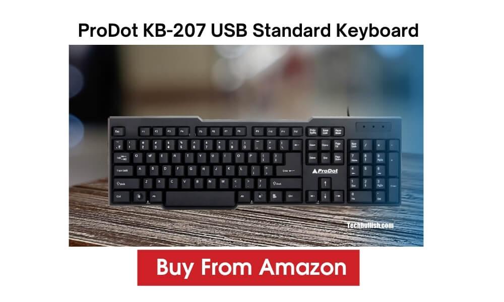 Prodot KB 207 USB Keyboard