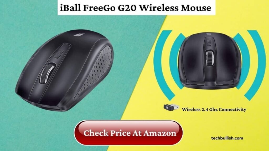 wireless mouse under 500-iBall FreeGo G20 Wireless Mouse Review