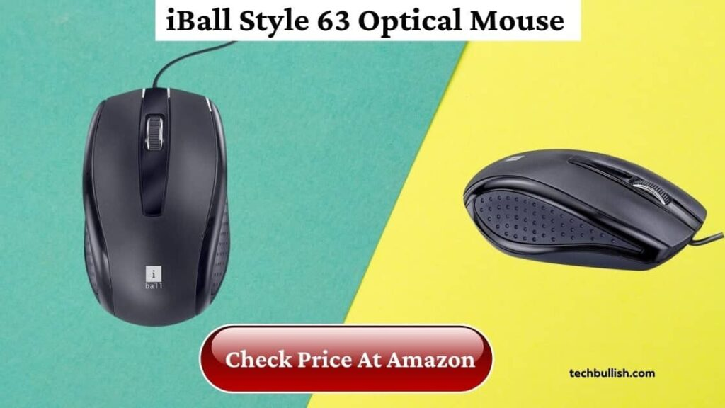 iBall Style 63 Optical Mouse Review