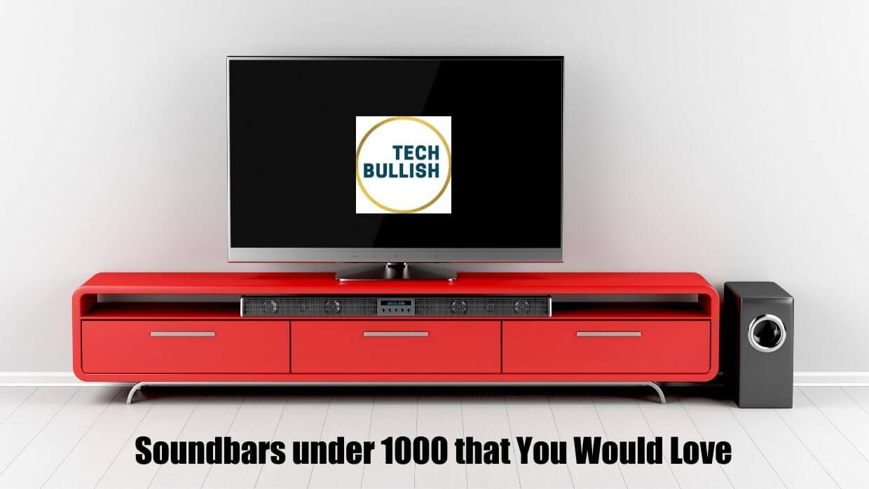 best soundbar under 1000 rs