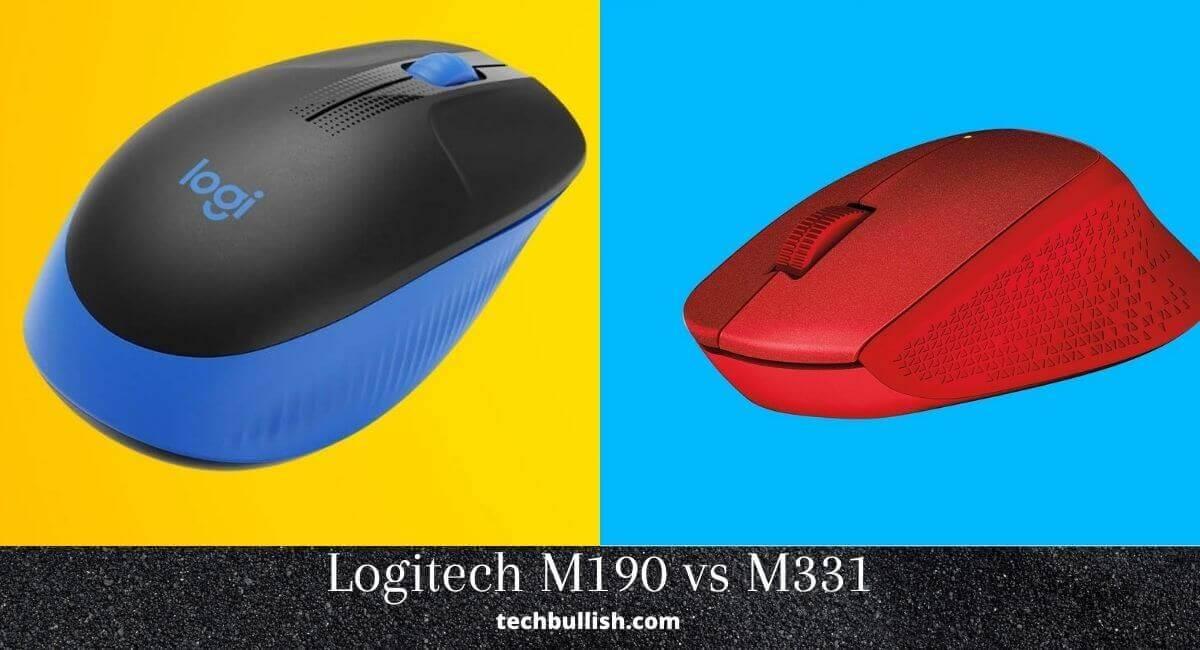 Logitech-M331-vs-M190