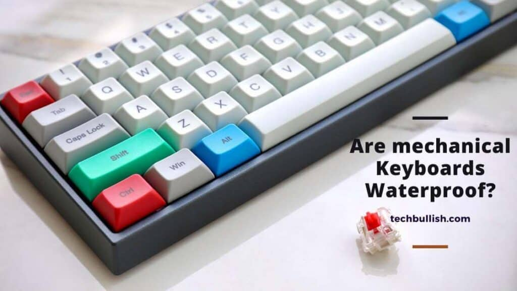 are mechanical keyboard waterproof