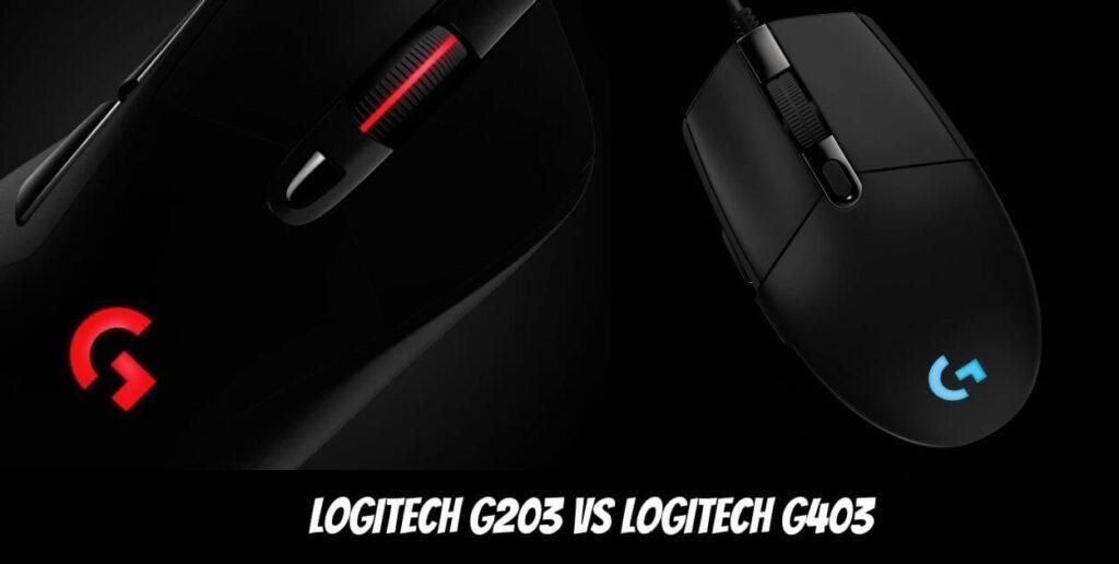 Logitech G203 vs Logitech G403