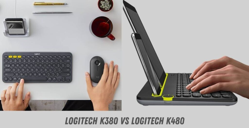 Logitech K380 vs Logitech K480