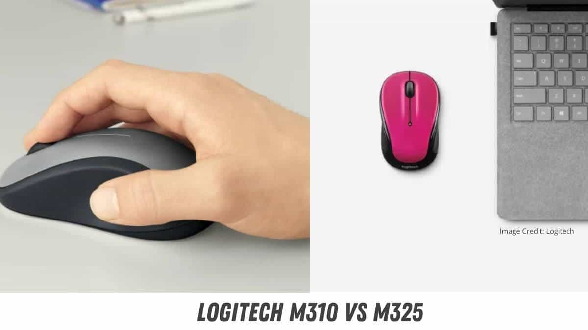 Logitech M310 vs M325