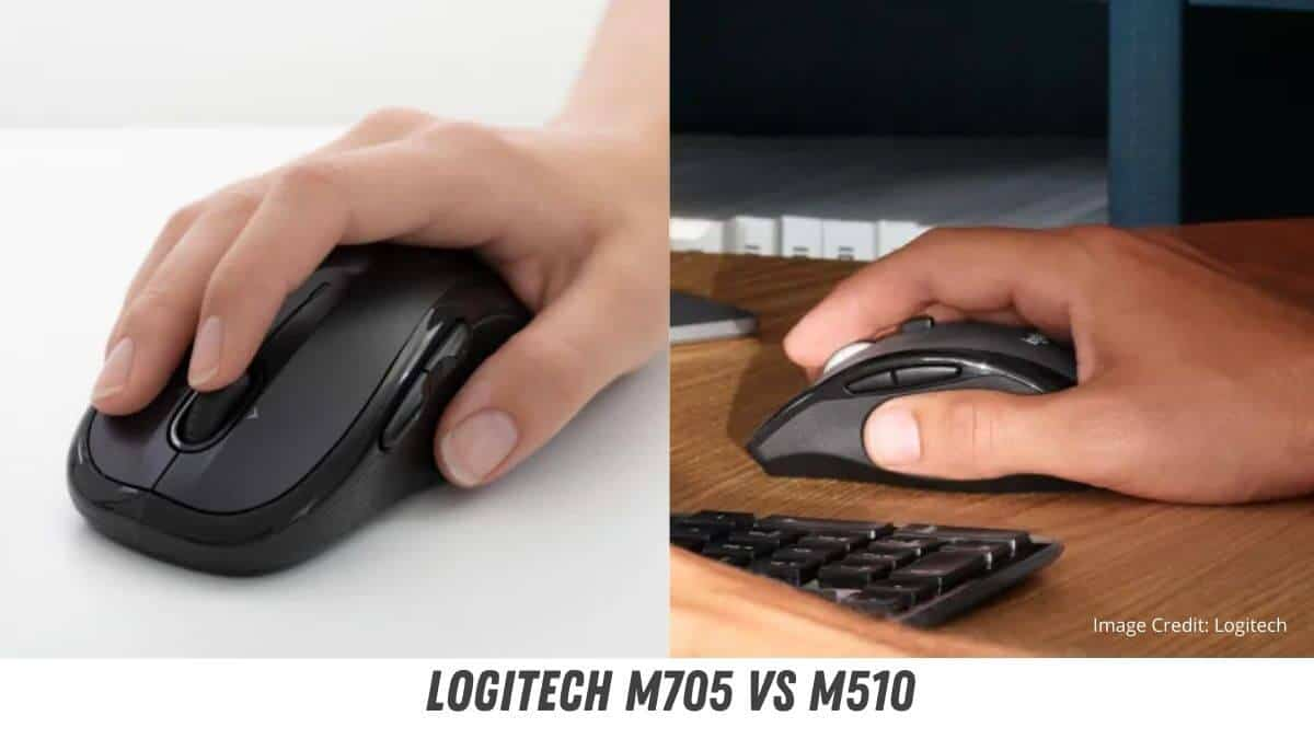 Logitech M705 vs M510