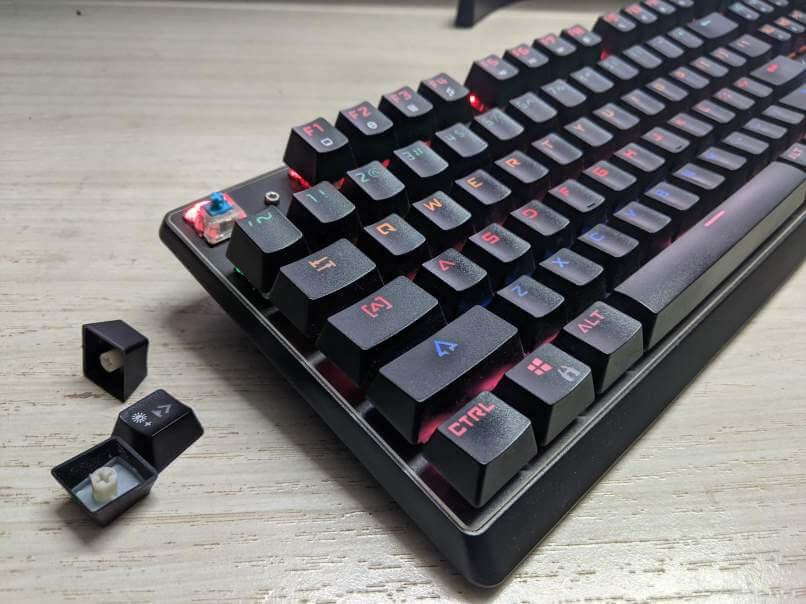 image of mechanical keyboard