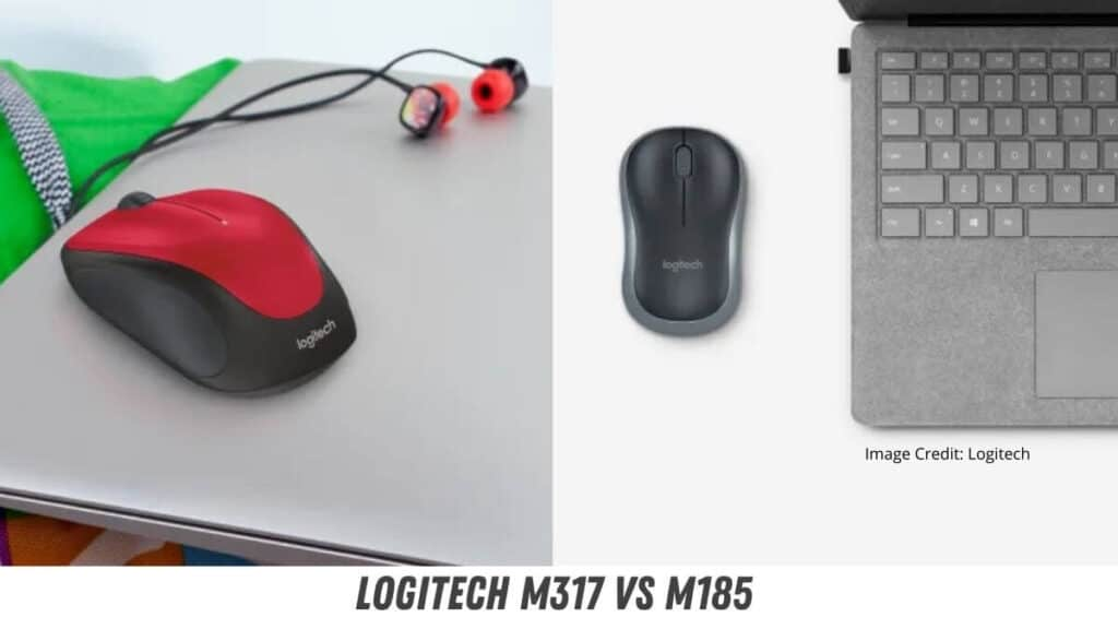 Logitech M317 vs M185