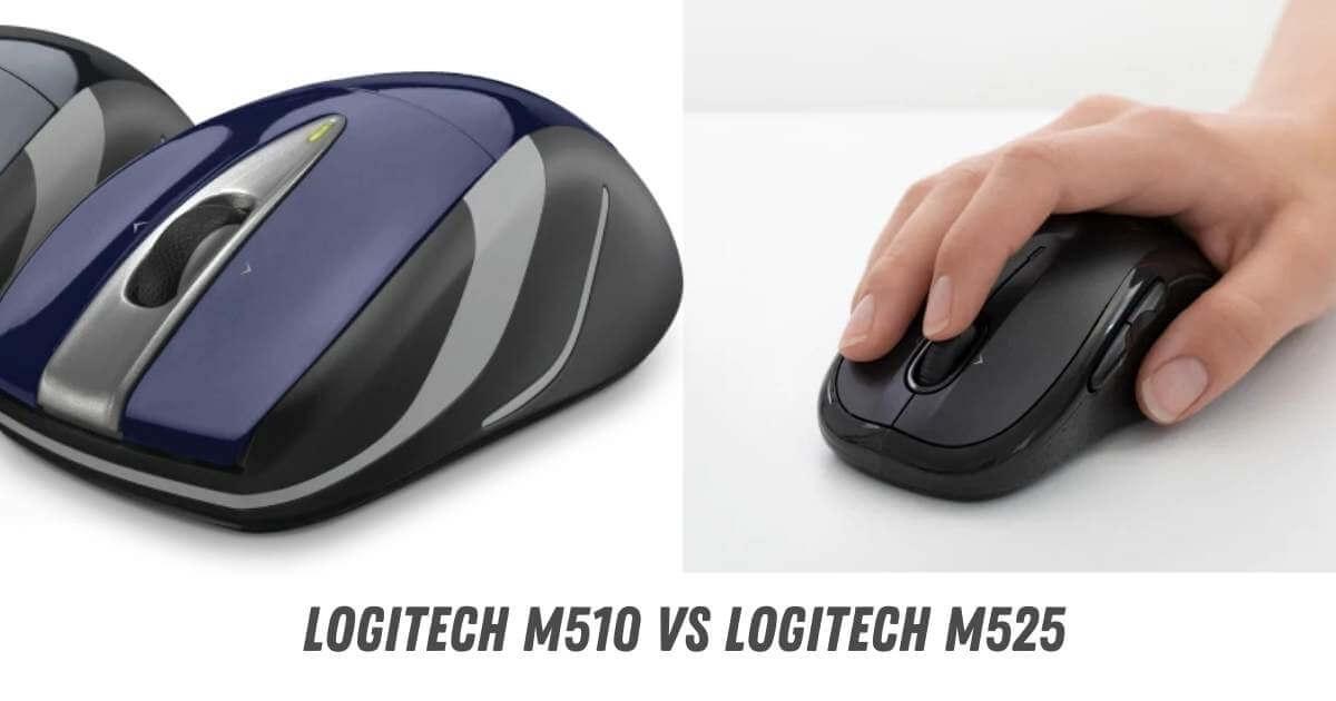 Logitech M510 vs M525