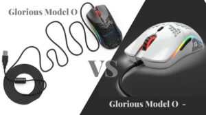 Glorious Model O vs Model O-