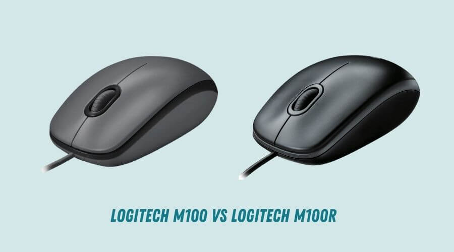 Logitech M100 vs M100r