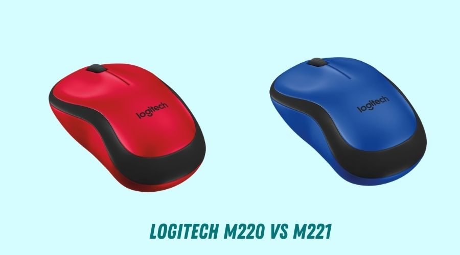 Logitech M220 vs M221