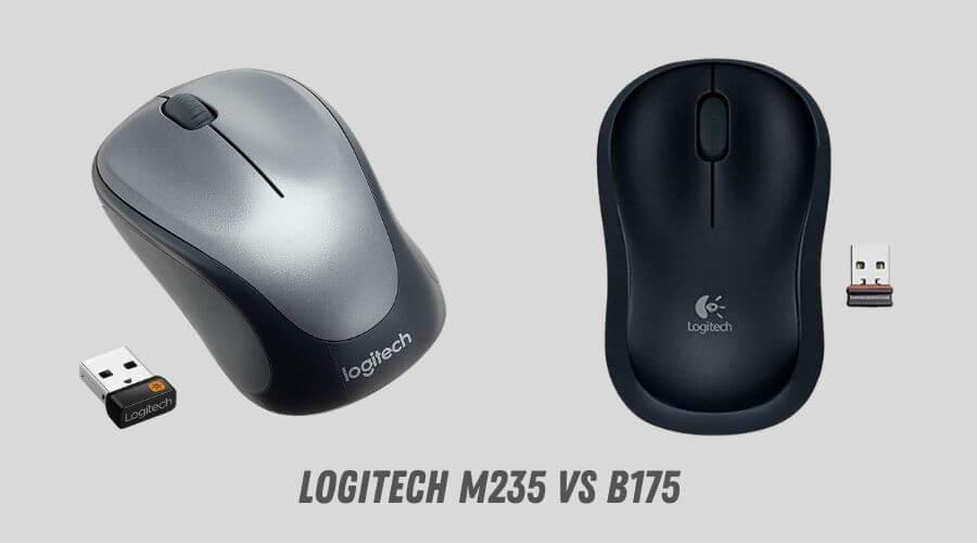 Logitech M235 vs B175