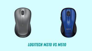 Logitech M310 vs M510