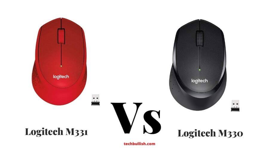 Logitech M331 vs m330