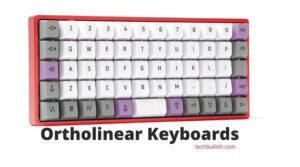 Ortholinear keyboard