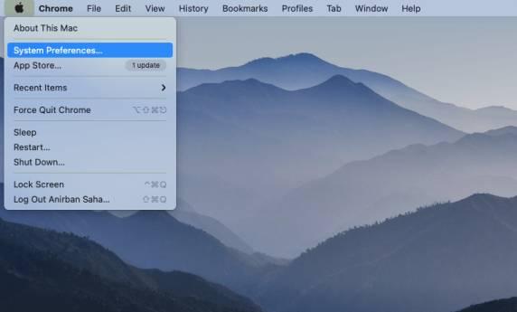 Setup Vertical Screen Mac