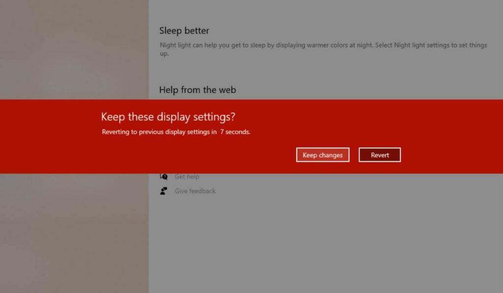 keep display settings for vertical monitor