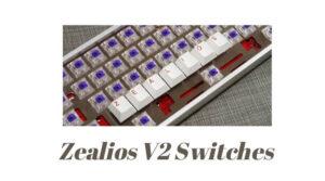 Zealios v2 switches