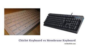 membrane vs chiclet keyboard